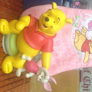 Cute Winnie the Pooh figurine